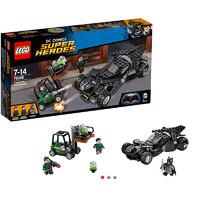 双11预告:LEGO 乐高 超级英雄系列 76045 蝙蝠侠对超人 氪星石抢夺战